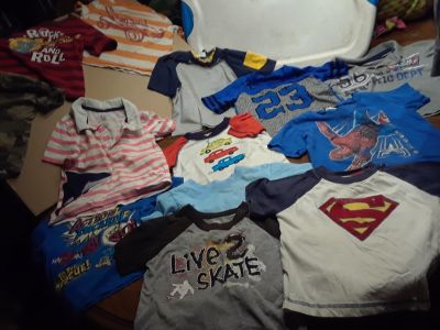All boy clothes and shoes
