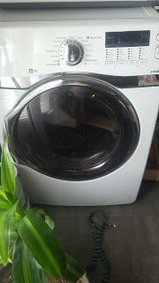 Steam Front loader washer and dryer
