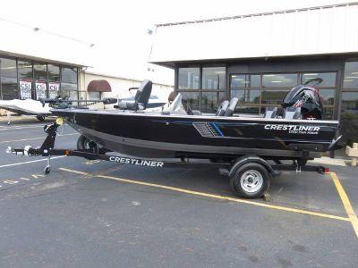 2018 Crestliner 1750SC FISH HAWK Jon Boats Saint Peters, MO