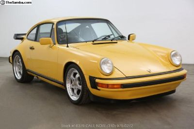 1979 Porsche 911SC Sunroof Coupe