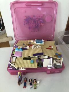 LEGO friends with case