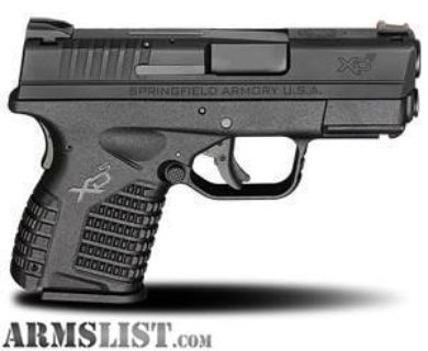 For Sale: Springfield Armory XDS (9mm)