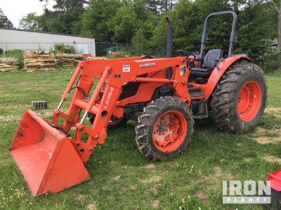 2016 Kubota M7060D 4WD Tractor