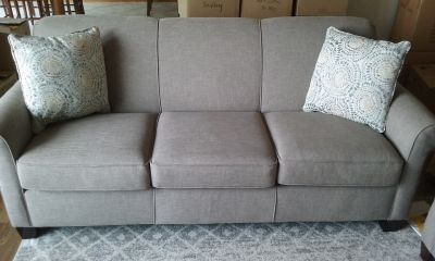 2 Gray Full Size Couches $1200 for both