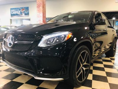 2016 Mercedes-Benz GLE 4MATIC 4dr GLE 450 AMG Cpe (Obsidian Black Metallic)