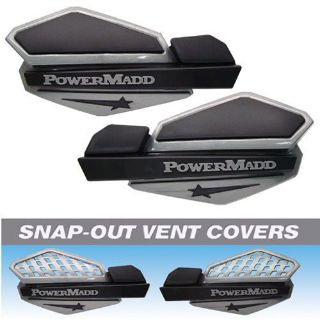 Find Powermadd Star Handguard System - Silver/Black motorcycle in Bangor, Maine, United States, for US $31.50