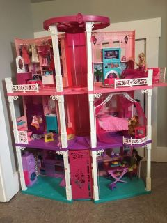 Barbie Lights and Sounds Dream House