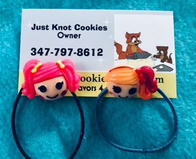 Girls Handmade Hair Ties