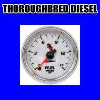 """Sell Autometer Cobalt C2 Series-Fuel Press Gauge 2-1/16"""" Elec Full Sweep 0-15 PSI motorcycle in Winchester, KY, US, for US $192.18"""
