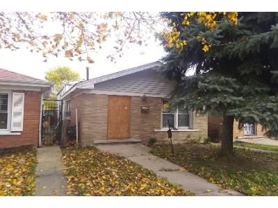 3 Bed 1 Bath Preforeclosure Property in Chicago, IL 60636 - S Seeley Ave