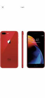 Verizon unlocked red iPhone 8 plus clean serial and iCloud well work with multi carrier