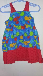 Little fish dress