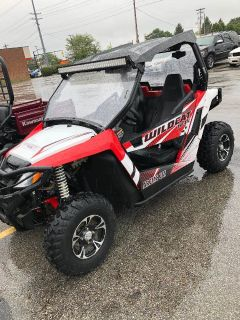 2015 Arctic Cat WILDCATTRAIL LIMITED Sport Side x Side Utility Vehicles Columbus, OH