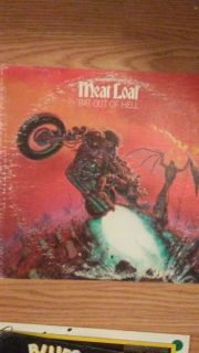Meat Loaf (Bat out of Hell) 33 rpm LP