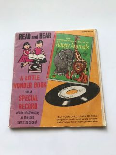 1957 Read and Hear Happy Animals