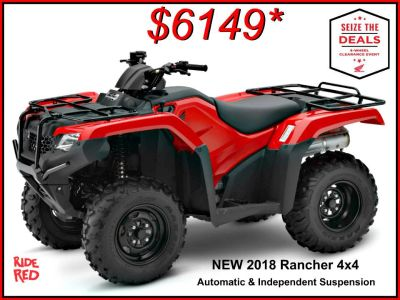 2018 Honda FourTrax Rancher 4x4 DCT IRS Utility ATVs Erie, PA