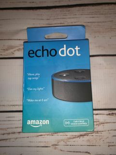 New in Box Amazon Echo Dot (2nd Generation) Smart Assistant with Alexa - Black
