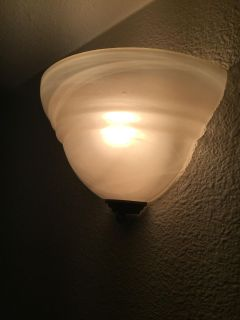 One. Sconce