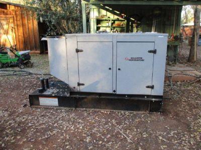 2016 Gillette 30kW Diesel Standby Generator RTR# 8111202-01