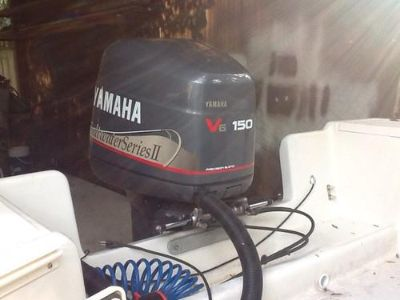 "Sell 1998 Yamaha Saltwater Series II 150HP Motor 25"" Shaft motorcycle in Fernandina Beach, Florida, US, for US $3,500.00"