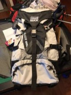 Coleman max elate 65L backpack