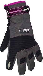 Sell Divas Snowgear Versa 2016 Womens Snowmobile Gloves Charcoal Gray/Pink motorcycle in Holland, Michigan, United States, for US $61.65