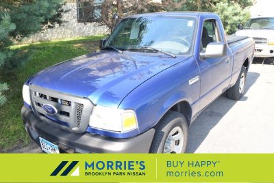 2008 Ford Ranger XL (blue)