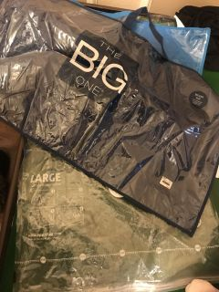 Free bags for pillows and 1 space bag