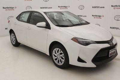 2019 Toyota Corolla L (Blizzard Pearl)