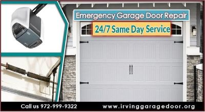 Same Day Emergency Garage Door Installation & Replacement $25.95 | Irving Dallas, 75039 TX