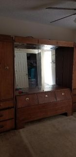 Solid wood Bedroom suit