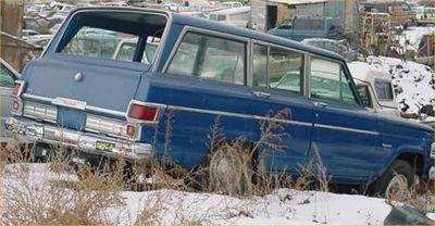 1977 Jeep Wagoneer parts
