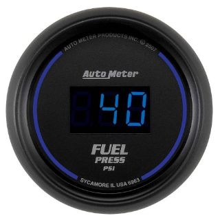 "Purchase Auto Meter 6963 Fuel Pressure Gauge 2-1/16"" BLACK FACE COBALT DIGITAL S motorcycle in Decatur, Georgia, United States, for US $282.95"