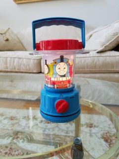 Thomas The Train Tank Engine Lantern Light for Children - Blue - Excellent Like New Working Con...