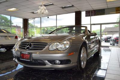 2004 Mercedes-Benz SL-Class SL500 (Desert Silver Metallic)
