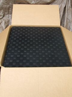 Garage Flooring Black Diamond Interlocking Modular Tile 12x12 ~ 44 Pack NEW