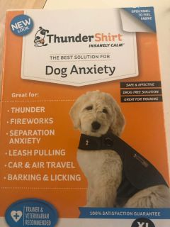 Thunder shirt for dog anxiety size XL