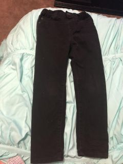 5T black jeans from Children s Place.