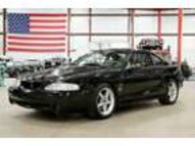 1997 Ford Mustang -- 1997 Ford Mustang SVT Cobra 50502 Miles Black Coupe 4.6L