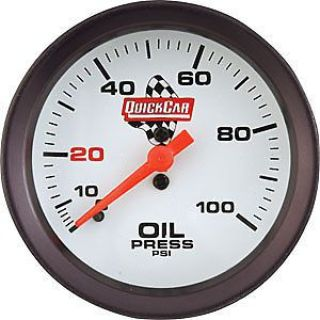 Purchase QuickCar Racing 611-7003 Extreme Oil Pressure Gauge0-100 psi motorcycle in Delaware, Ohio, United States, for US $67.95