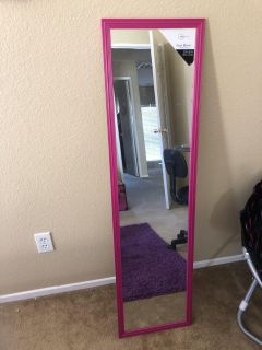Large mirror never used