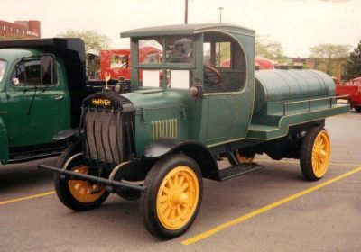 Very Rare 1922 Harvey Truck