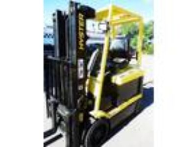 2000 Electric Hyster E50XM-33 Cushion Tire 4 Wheel Sit Down Indoor Warehouse