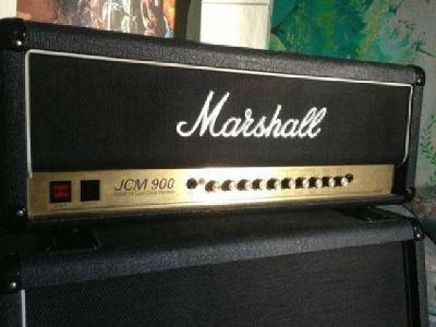 $1,300 OBO Marshall JCM 900 (100 watt head + cabinet)