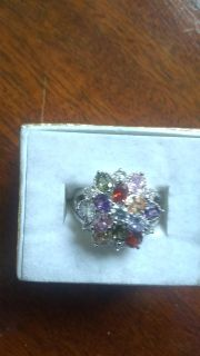 Size 7 multi stone ring. Great gift