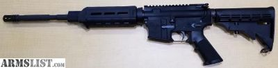 For Sale: AR 15 Anderson AM 15 Rifle