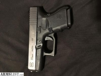 For Trade: Glock 33 gen4