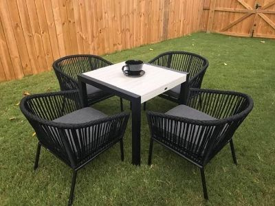 Brand NEW Patio Table & Chairs with cushions