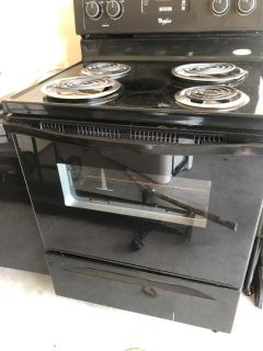 Used electric stove and oven