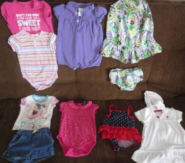 size 9mnth girl clothes
